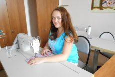 Демина Виктория Юрьевна, мастер по профессии - Оператор швейного оборудования