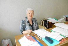 Кривоносова Зинаида Михайловна, мастер по профессии - Обувщик по ремонту обуви